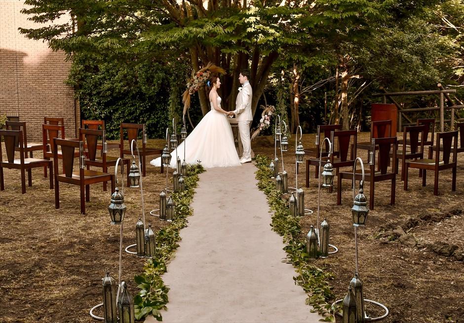 伊豆・伊豆高原結婚式 貸切邸宅挙式・披露宴 ガーデンウェディング