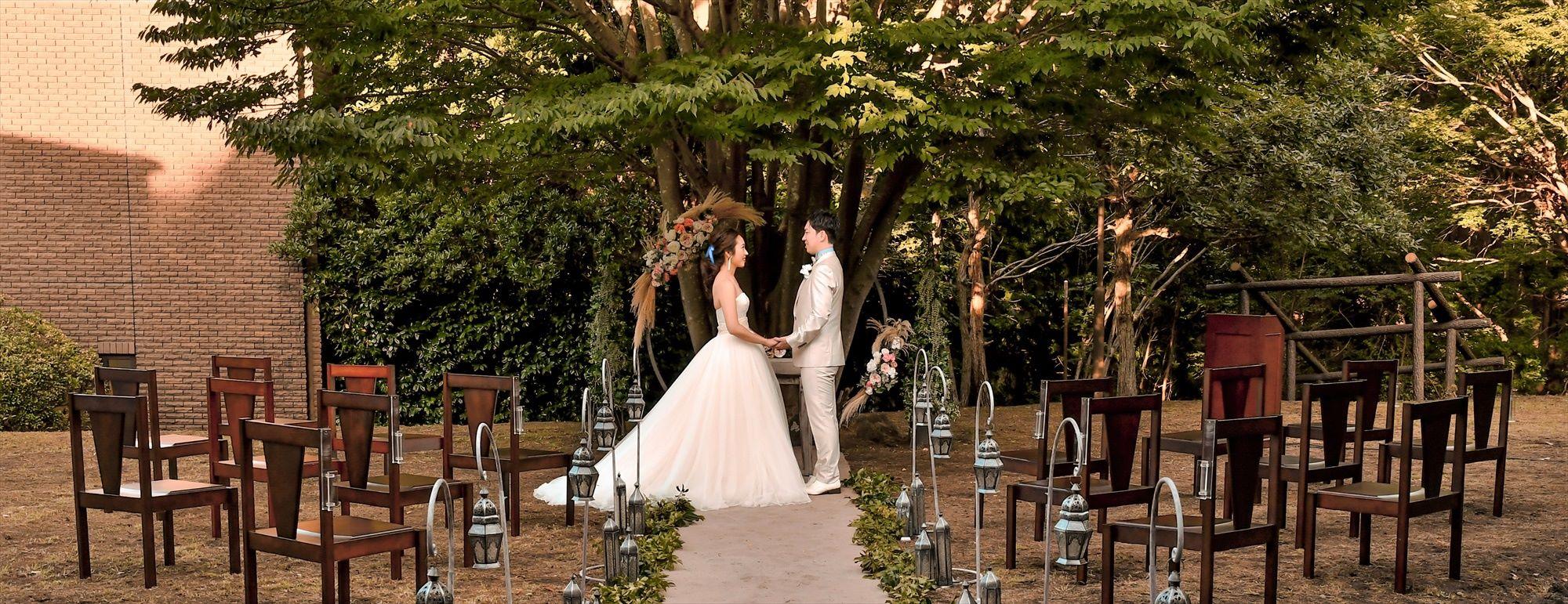 伊豆ガーデン・ウェディング Izu Private Garden Wedding Kaze no kanori MORI 伊豆バリ風リゾート挙式