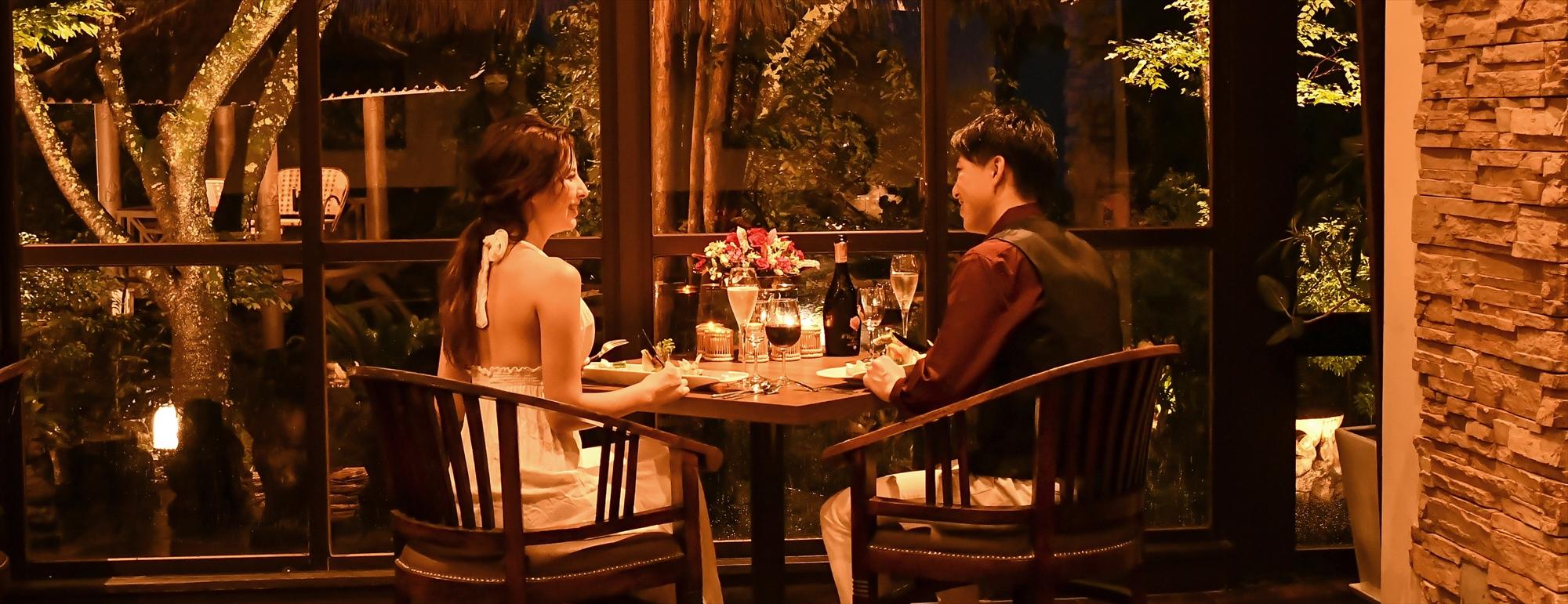 伊豆挙式前ロマンティックディナー Izu Wedding Romantic Dinner Anda Resort Izukogen 伊豆高原前撮り アンダリゾート