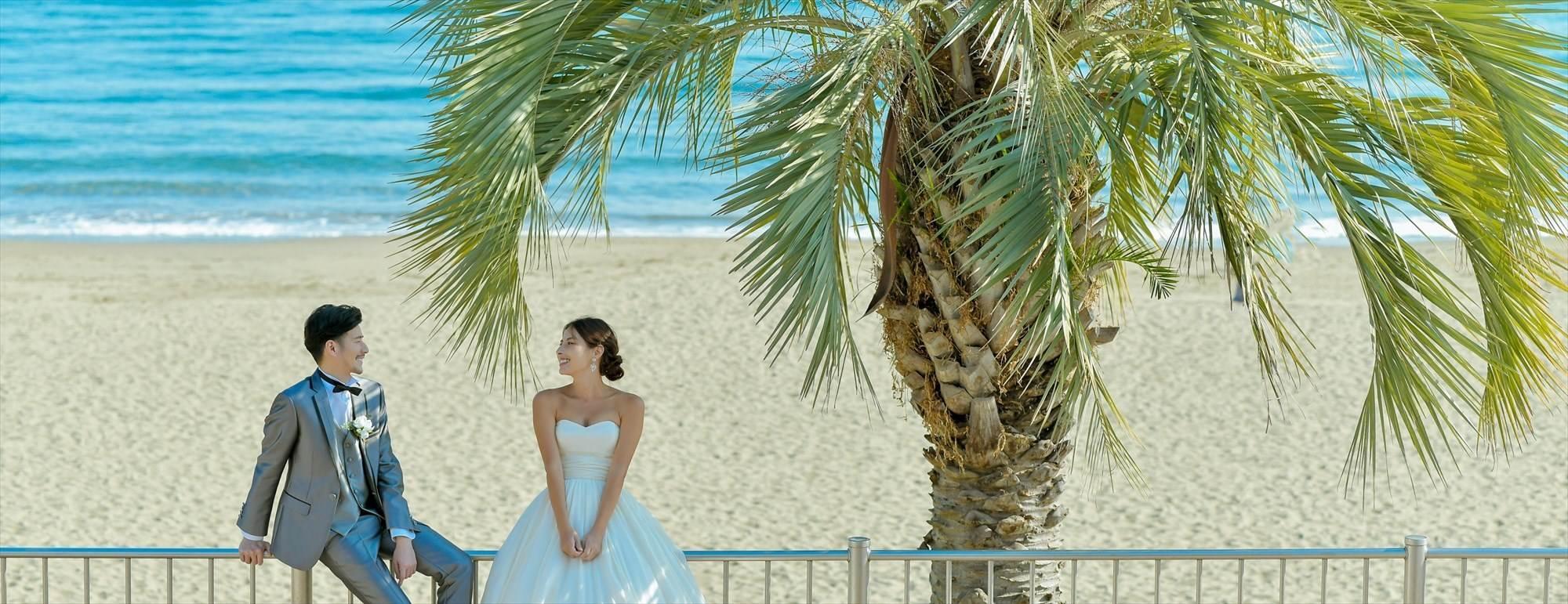熱海ビーチウェディングフォト Atami Sun Beach Wedding Photo 熱海サンビーチ前撮り