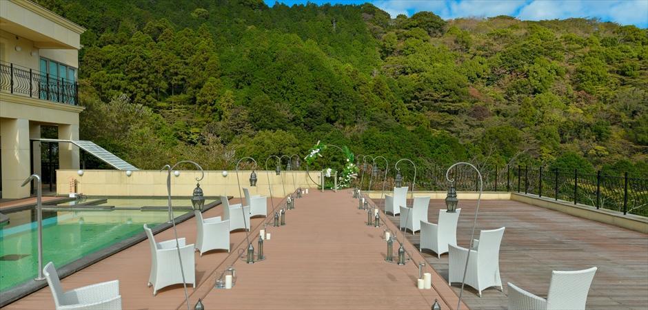 Forest View Deck Wedding