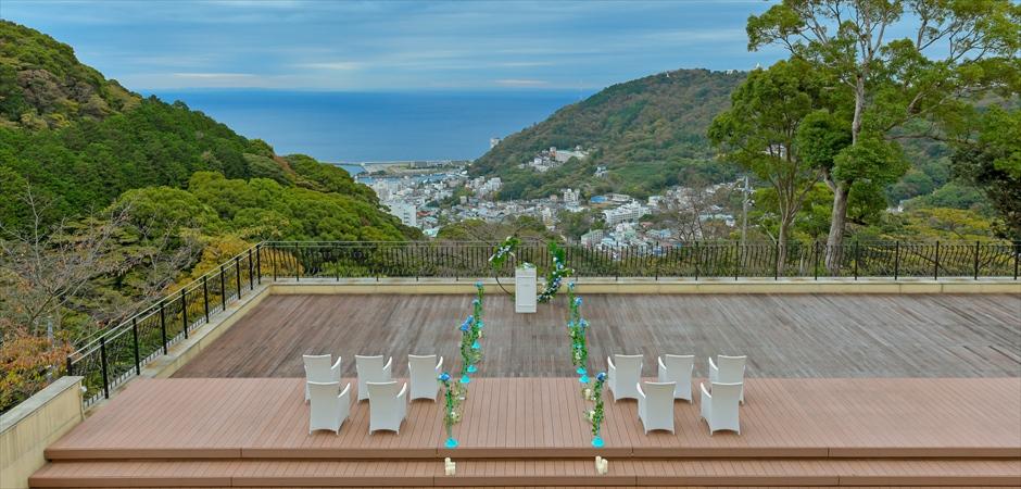 Ocean View Deck Wedding