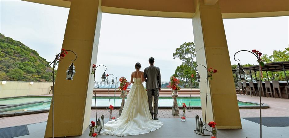 Half Indoor Wedding