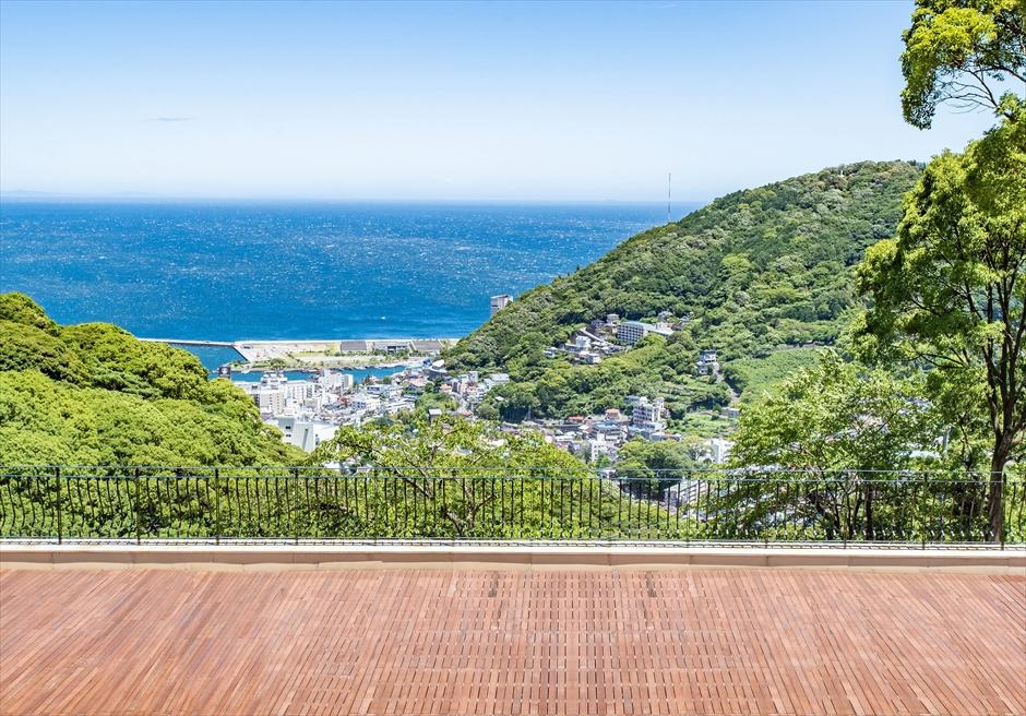 熱海スパ&リゾート デッキからの眺め