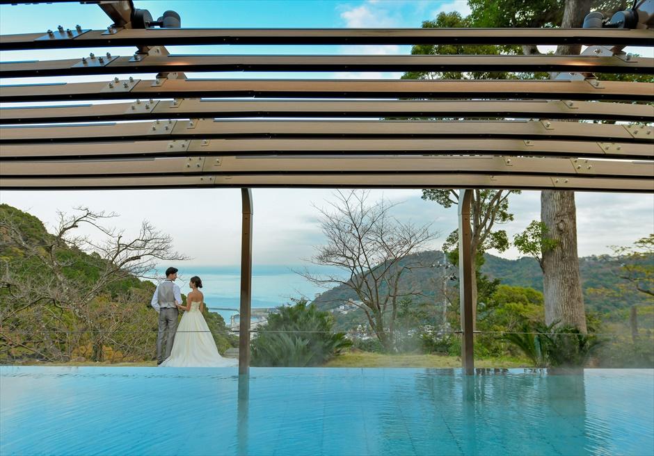 熱海貸切フォトウェディング 1日1組結婚式 熱海スパ&リゾート