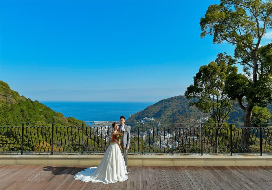 熱海スパ&リゾート結婚式前撮り ウェディングフォト ウェディングドレスレンタル