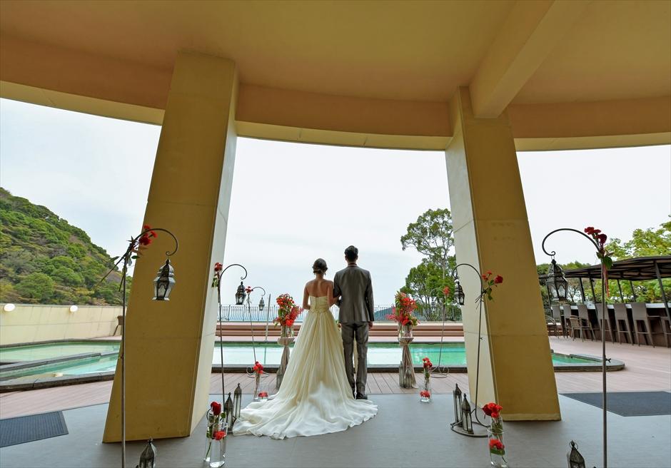 熱海結婚式半屋外 邸宅結婚式貸切 熱海スパ&リゾート