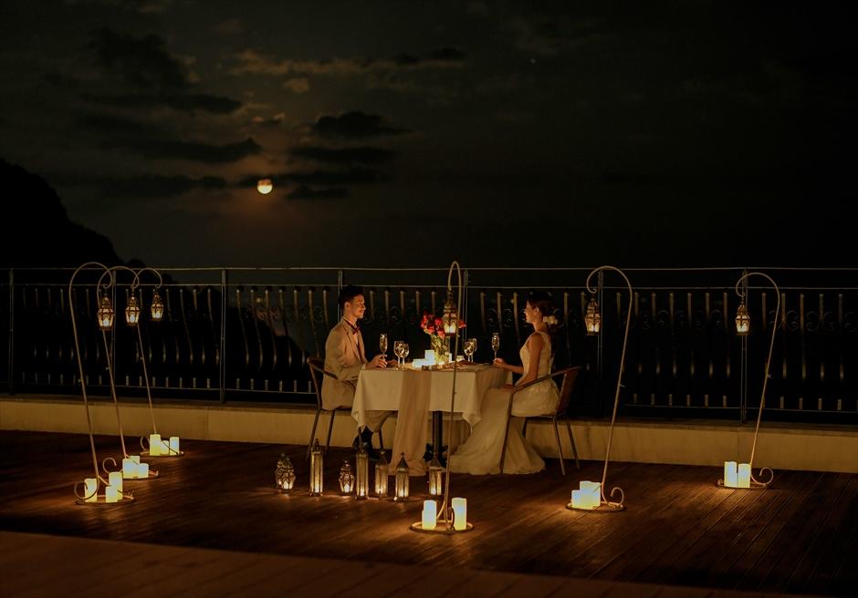 熱海結婚式一軒家 ロマンティック・キャンドル・ディナー