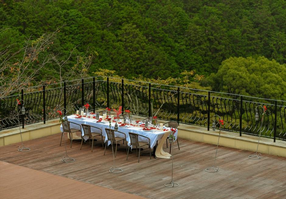 邸宅披露宴貸切 熱海スパ&リゾートウェディング ウェディングパーティー絶景
